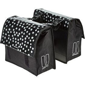 Basil Urban Load S Double Pannier Bag 25l, black/reflective